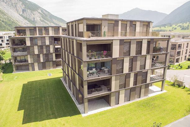 Wohnüberbauung Ardislapark, Domat/Ems