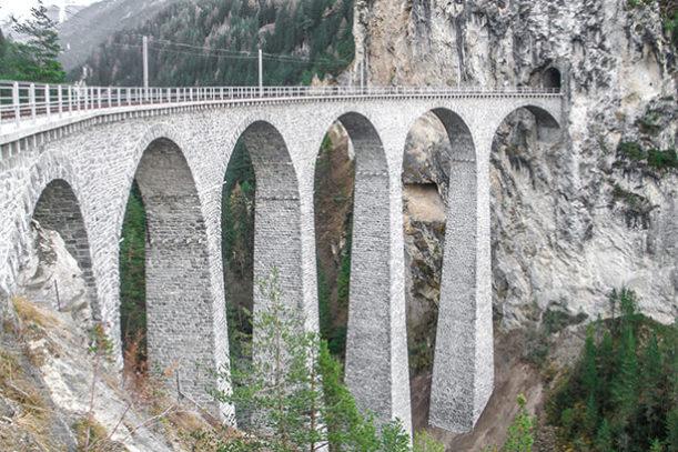 RhB Landwasserviadukt, Bergün