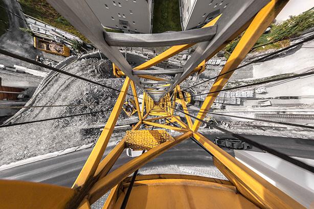 H19 Oberalpstrasse, Strassenkorrektion Trin Mulin