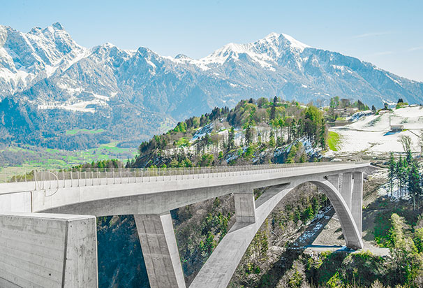 Taminabrücke, Pfäfers – Valens