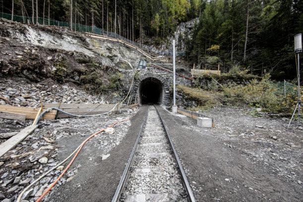 RhB Portal Bergünersteintunnel